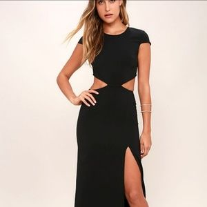 Lulu maxi dress with cutouts